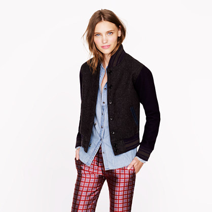 J.Crew Golden Bear Sportswear® for varsity jacket