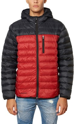 Skechers Men's Packable Down-Filled Hooded Jacket
