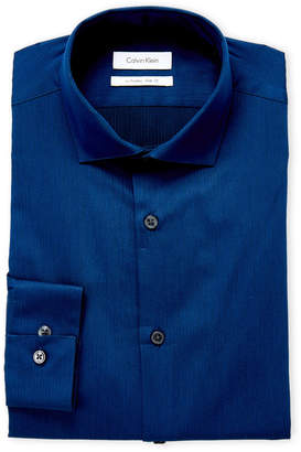 Calvin Klein Navy Extreme Slim Fit Dress Shirt