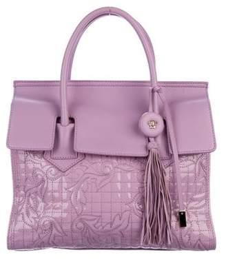 Versace Matelassé Leather Handle Bag