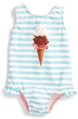 Infant Girl's Tucker + Tate Ruffle One-Piece Swimsuit $29 thestylecure.com