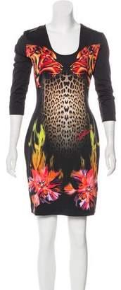 Just Cavalli Jersey Mini Dress w/ Tags