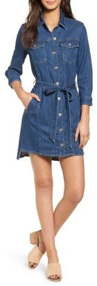 Women's 7 For All Mankind Trucker Shirtdress $279 thestylecure.com