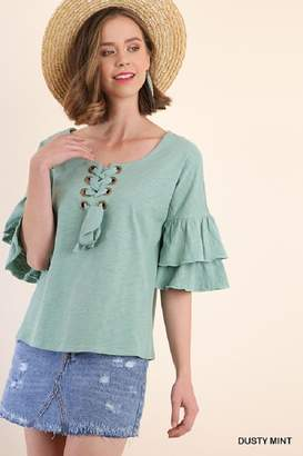 Umgee USA Mint Bell Sleeve