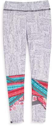 Onzie Girls' Geometric-Print Leggings