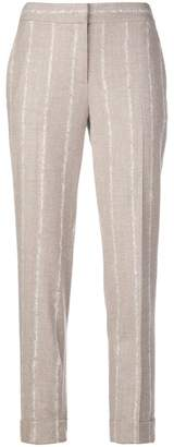 Lorena Antoniazzi striped tapered trousers