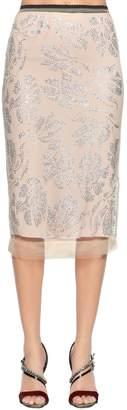 N°21 Cristal Embellished Tulle Skirt
