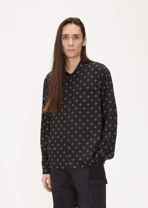 John Elliott Long Sleeve Smoking Shirt