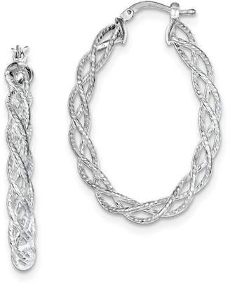Proenza Schouler Sterling Silver Hoop Earrings - ICE CARATS Set Fine Jewelry Ideal Gifts For Women Gift Set From Heart