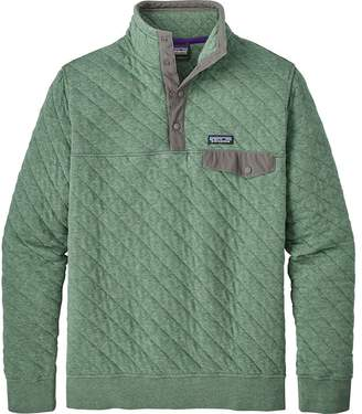 Patagonia Organic Cotton Quilt Snap-T Fleece Pullover - Men's