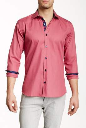 Maceoo Luxor Long Sleeve Trim Fit Shirt $189 thestylecure.com