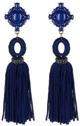 BaubleBar Sohvi Tassel Berry rop Earrings