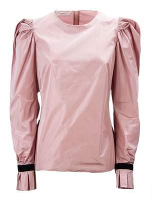 Philosophy di Lorenzo Serafini Pink Puff Sleeve Blouse