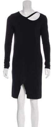 LnA Long Sleeve Knee-Length Dress