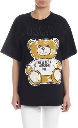 986d1ac184c Moschino Brushstroke Teddy Bear T-shirt