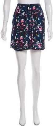 Richard Chai Printed Mini Skirt