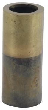 DecMode Decmode Rustic 10 X 4 Inch Aluminum Flower Vase