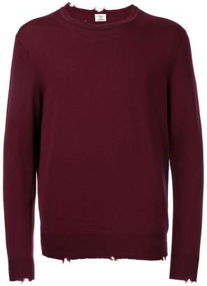 Kent & Curwen distressed jumper