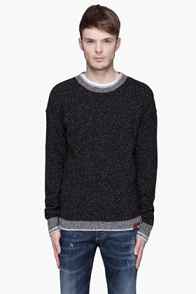 Diesel Black pilly K-Bakul Sweater