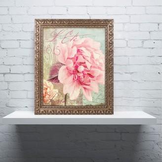 """Trademark Fine Art Saisons III """"Paris"""" Ornate Framed Wall Art"""