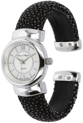 Argento Arte D'argento Arte D' Sterling Stingray Cuff Watch