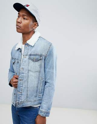 Tommy Hilfiger Light Wash Denim Jacket