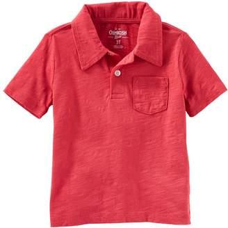 Osh Kosh Oshkosh Bgosh Toddler Boy Solid Polo