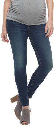 A Glow Maternity a:glow Inset Elastic Side Panel Jeggings