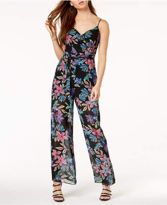 GUESS Elana Floral-Print Jumpsuit