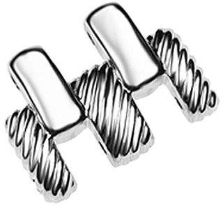 Judith Ripka Stainless Steel Watch Extender Clasp