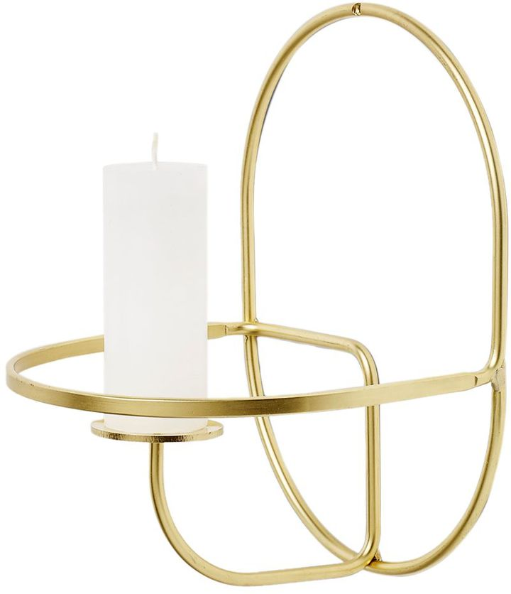 Lup Wire Wall Candleholder
