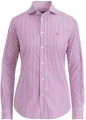 Polo Ralph Lauren Stretch Slim Fit Striped Shirt $98.50 thestylecure.com