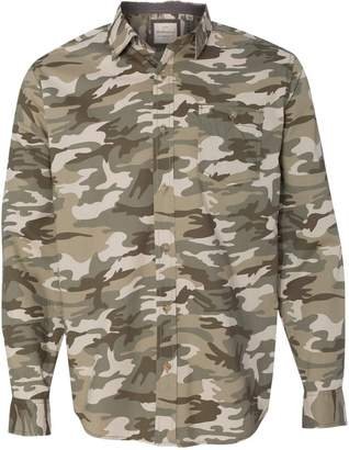 Weatherproof Vintage Camo Long Sleeve Shirt 154622 M