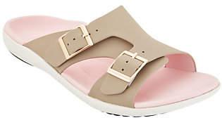Spenco Orthotic Adjustable Buckle Slide Sandals- Brighton