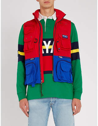 Polo Ralph Lauren Hi Tech shell gilet