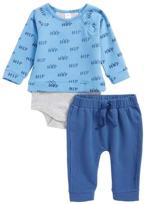 Nordstrom Bodysuit & Sweatpants Set (Baby Boys)