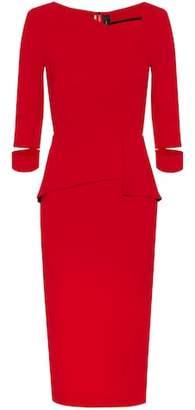 Roland Mouret Dunne crêpe dress