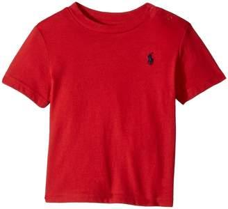 Ralph Lauren Cotton Jersey Crew Neck T-Shirt Boy's T Shirt