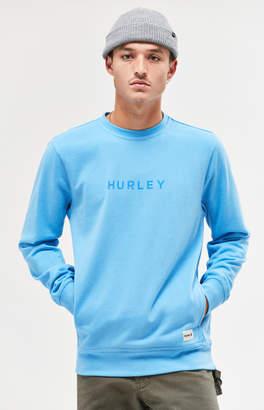 Hurley Atlas Blocked Crew Neck Sweatshirt