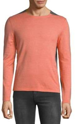 HUGO BOSS Onzo Heathered Colorblock Sweatshirt