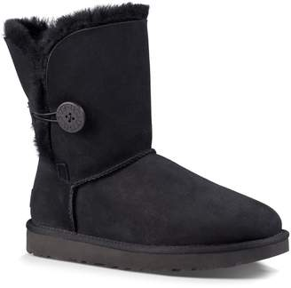 UGG Classic Bailey Button Shearling-Lined Sheepskin Boots