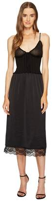 McQ Knit Lace Slip Dress Women's Dress