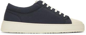 Etq Amsterdam Navy and Off-White Kurashiki Sneakers