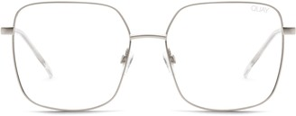 Quay Cheat Sheet 58mm Blue Light Blocking Glasses