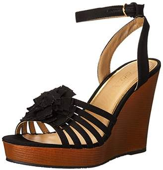 XOXO Women's Raina Wedge Sandal