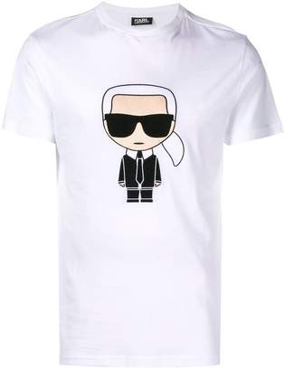 Karl Lagerfeld Ikokik embroidered T-shirt