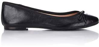 Barneys New York WOMEN'S SHELLY CAP-TOE FLATS