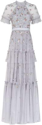 Needle & Thread Lustre Floral Sequin Gown
