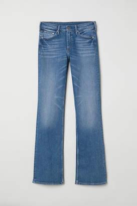 H&M Bootcut Regular Jeans - Blue