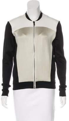 Helmut Lang Colorblock Zip-Up Jacket